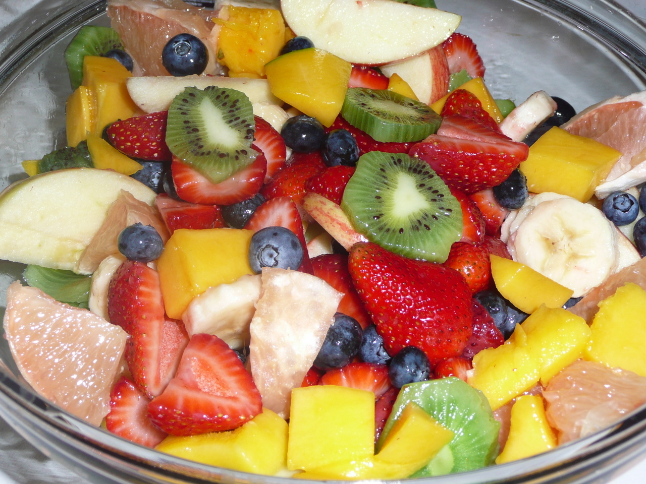 simple fruit salad fruit of the poisonous tree