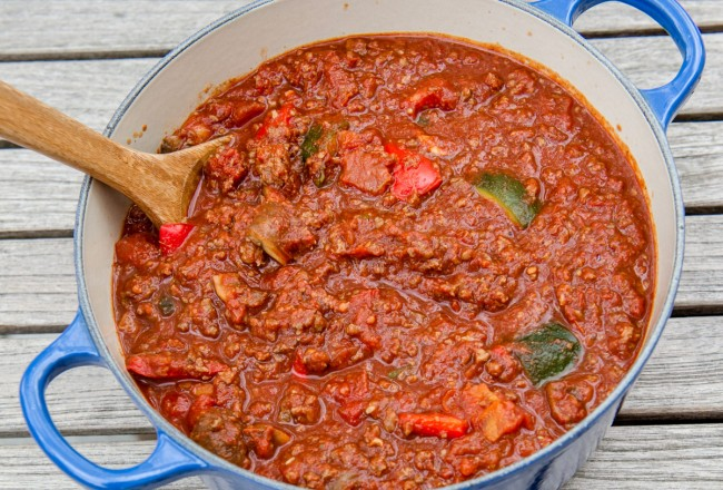Chunky Beef Chilli Image