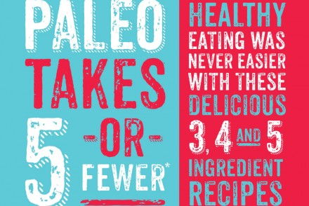 Paleo Takes 5 or Fewer Book Cover